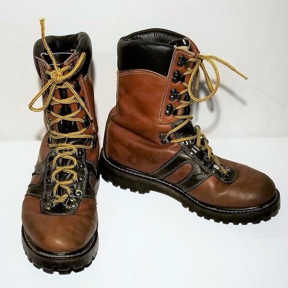 825d66e6b35 Goodyear Welt Leather Work/Hiking Boots Size 9E